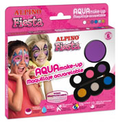 Ref 162 / 8.95 € / Maquillaje acualerable 6 colores
