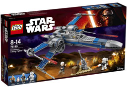 Ref 75149 / 91.95 € / Resistance X-Wing