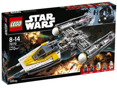 Ref 75172 / 77.95 € / Y-wing Starfighter